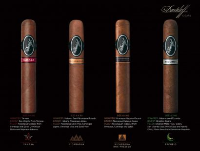 Cutters Cigar & Spirits Now Features Limited Release of Davidoff's Discovery (Black Label) Line in a New 6×60 Size
